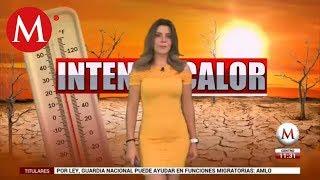 El clima para hoy 07 de junio, con Marilú Kaufman