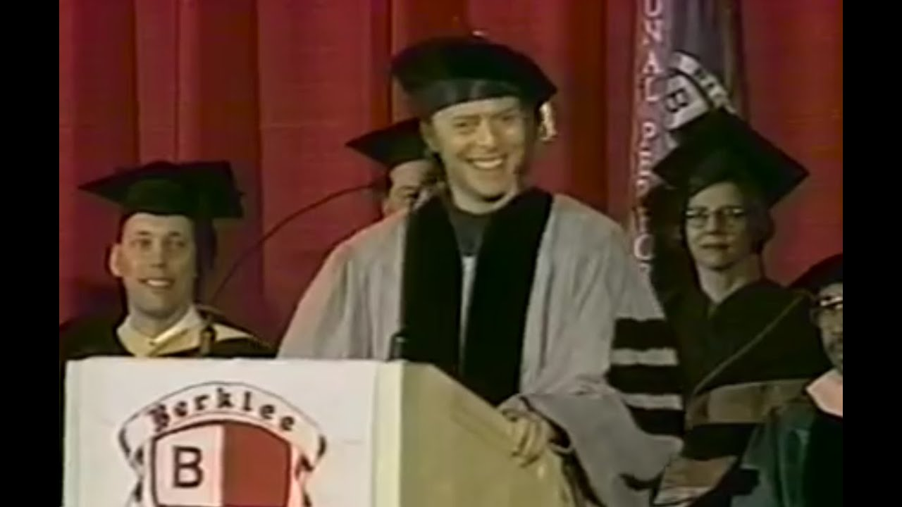 David Bowie - Berklee Commencement Address - YouTube