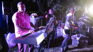Cuban Band Animation at the Salsa Night in the Old Port on August 1st 2015