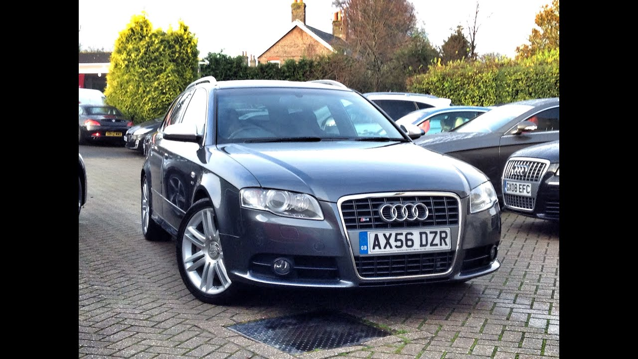 audi s4 avant 4 2 quattro 5dr 4wd for sale at cmc cars near brighton sussex youtube. Black Bedroom Furniture Sets. Home Design Ideas