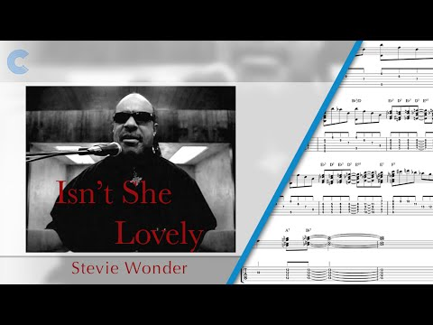 Piano - Isn't She Lovely - Stevie Wonder - Sheet Music, Chords, & Vocals
