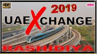 Dubai Metro Red Line 2019 UAE Exchange To Rashidiya