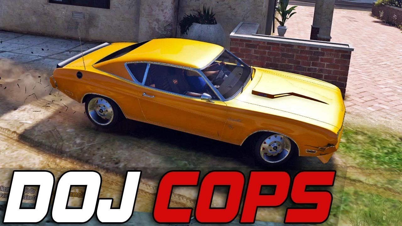 Dept. of Justice Cops #332 - Old School Muscle (Criminal) - YouTube