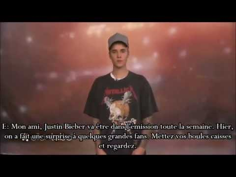 Justin Bieber fait une surprise à des fans chez Ellen || VOSTFR