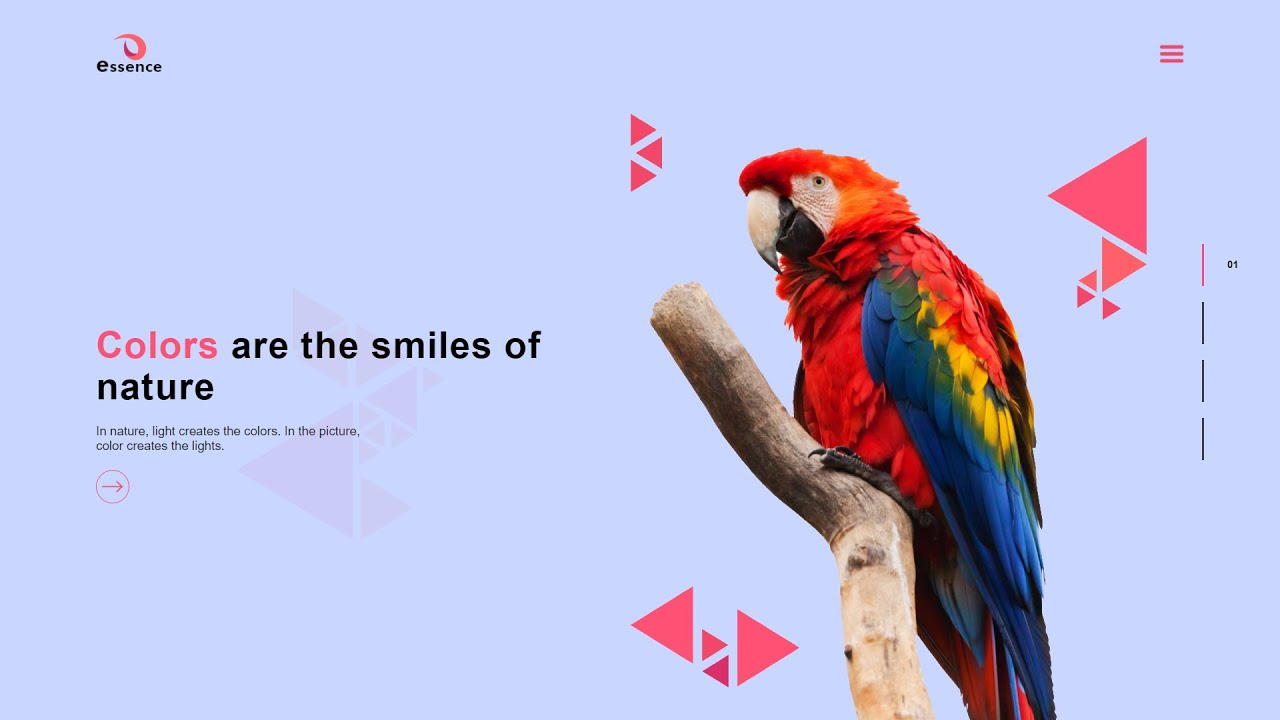 How To Make Website Using HTML & CSS With Image Gallery   HTML CSS Website Design