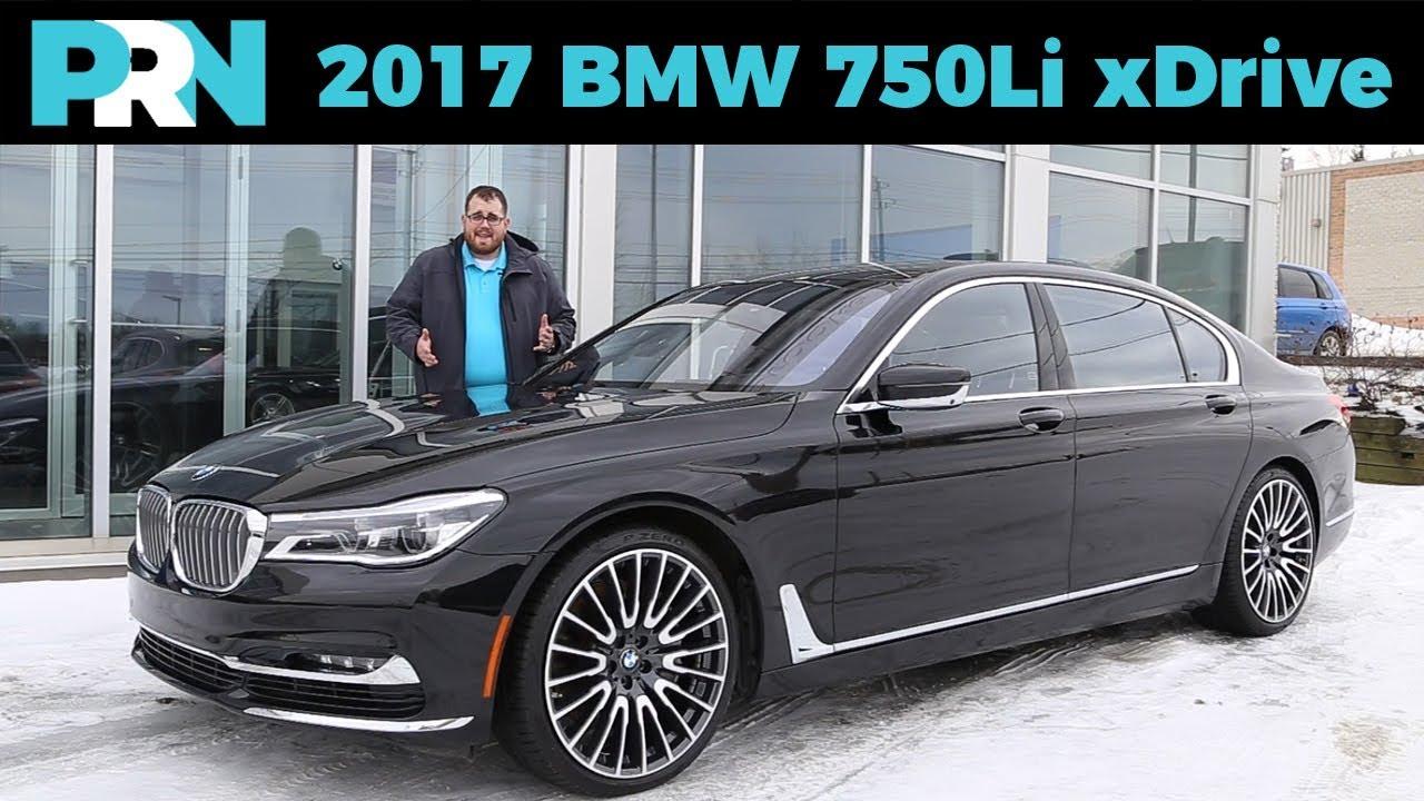 The Ultimate Driving Machine 2017 Bmw 750li Xdrive Testdrive Spotlight