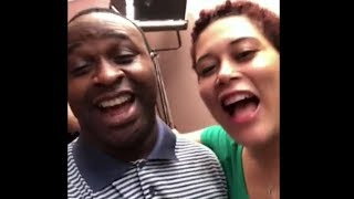 This Will Make U Laugh Actor Femi Adebayo And Adunni Ade Singing Together