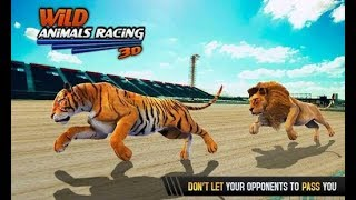 Wild Animals Racing 3D - Android Gameplay #2 | DishoomGameplay