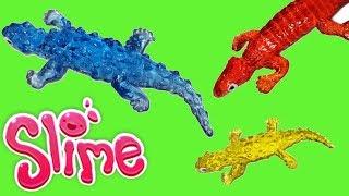 Slime • Zwierzęta • Aligator, jaszczurka, żaba, wąż • Super zabawki