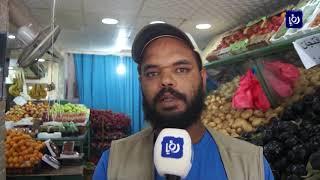 ضعف الحركة الشرائية في أسواق مادبا رغم انخفاض أسعار السلع الأساسية (21-5-2019)