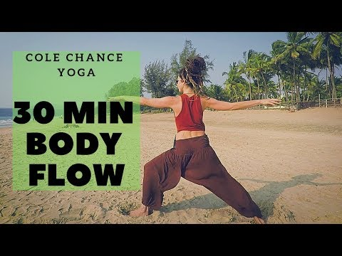 30 min..NO DOWN DOG YOGA - Cole Chance Full Body Flow