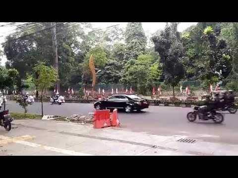 Presiden Jokowi dari Istana Bogor ke Jakarta