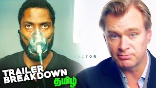 TENET Tamil Trailer Breakdown and HIDDEN Details (தமிழ்)