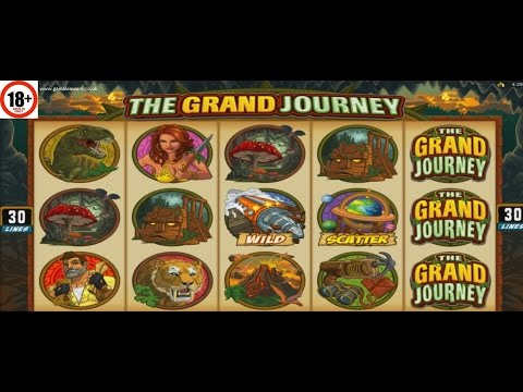 The Grand Journey Slot | ALL FEATURES + BIG WIN | Microgaming