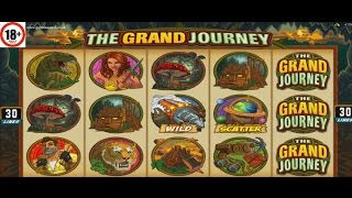The Grand Journey slot ALL FEATURES BIG WIN Microgaming