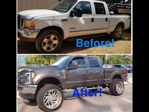 2019 #FORD #F250 #FIRST#7.3 #CONVERSION IN THE #U.S (2000 MODEL)