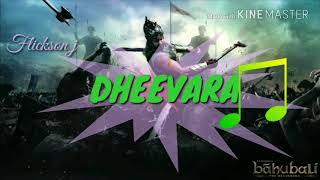 Dheevara original mp3 version by flickson j