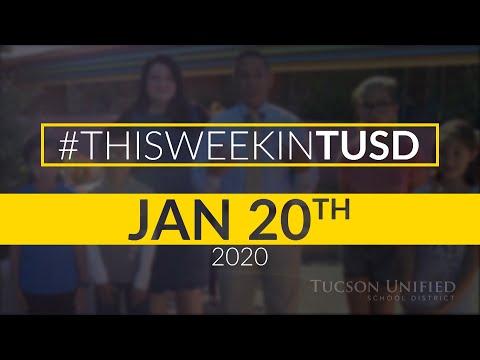 TUSD1 - Video Newsletter January 20, 2020 Sam Hughes Elementary School