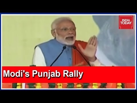 PM Modi Rakes Up Sikh Riots To Target Congress In Punjab Rally