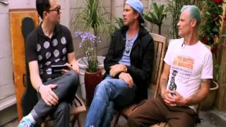 Interview RHCP with Hoppus on Fuse 22/07/2011