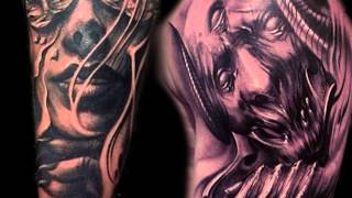 Tattoo Nation - Carl Grace - Freehand Black and Grey
