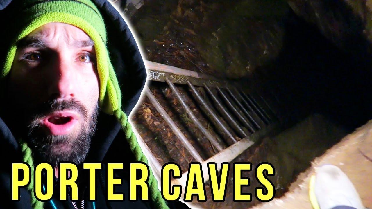 UCSC PORTER CAVES   Empire Cave   Santa Cruz California