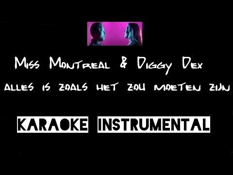 Miss Montreal Diggy Dex Alles Is Zoals Het Zou Moeten Zijn Instrumental Met Tekst Chords Chordify