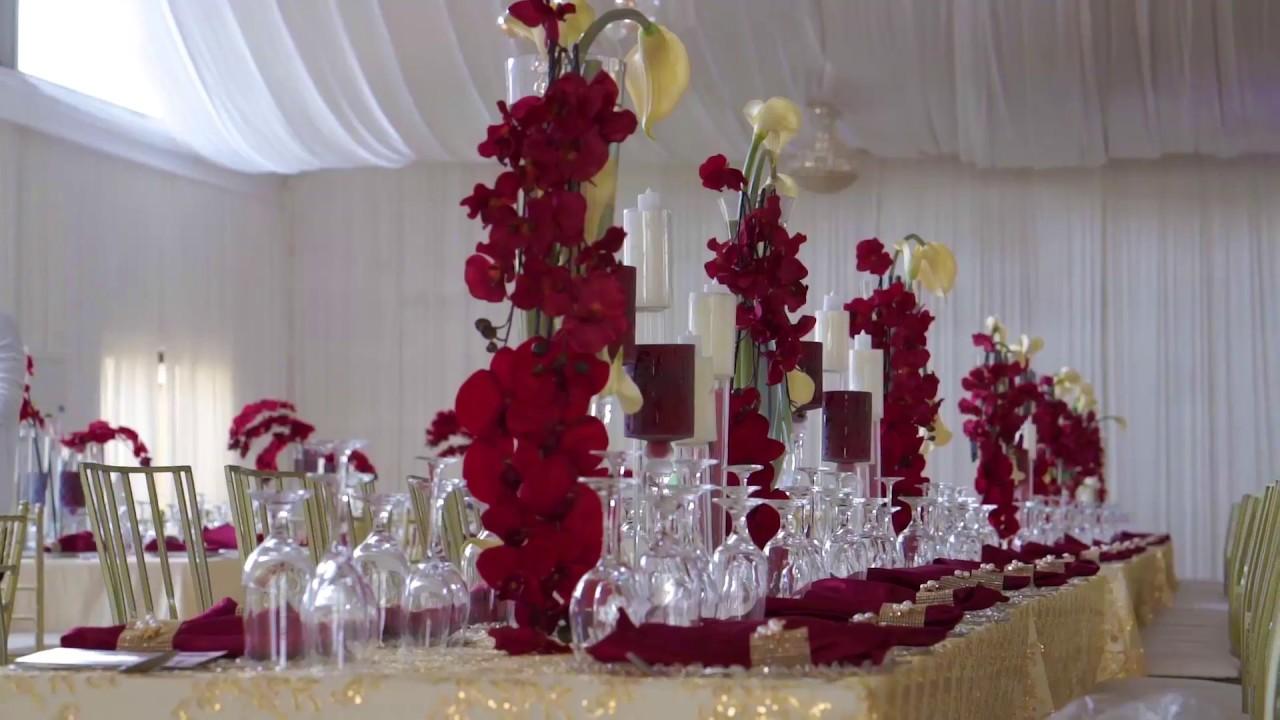 M D S Wedding Decor By Unique Floral At Prestige Court Tema Youtube