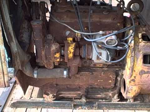 1969 hercules four cylinder engine running youtube for 2 4 motor for sale