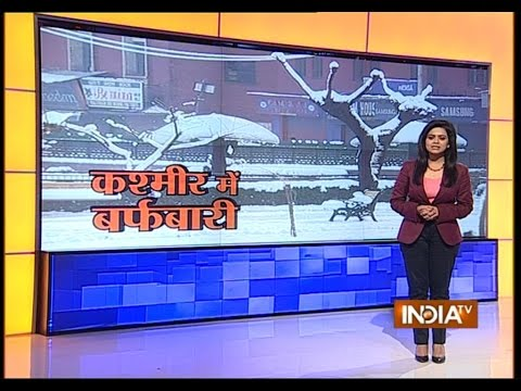 Heavy Snowfall Hits Jammu & Kashmir - India TV