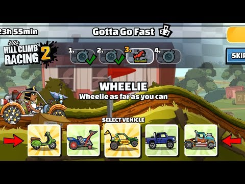 Hill Climb Racing 2 - 32472 Points In GOTTA GO FAST Team Event