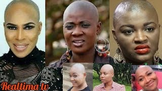 Top Nollywood Actresses Who Went Bald for a Movie Role