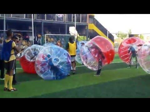 Nigeria girls playing ballooon ball game- Funiest