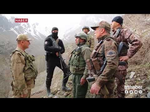 600 Mehmetçikten Hakkari'nin Kavaklı köyü kırsalında PKK'ya yönelik operasyon