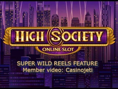 High Society - Super Wild Reels (Casinojeti)