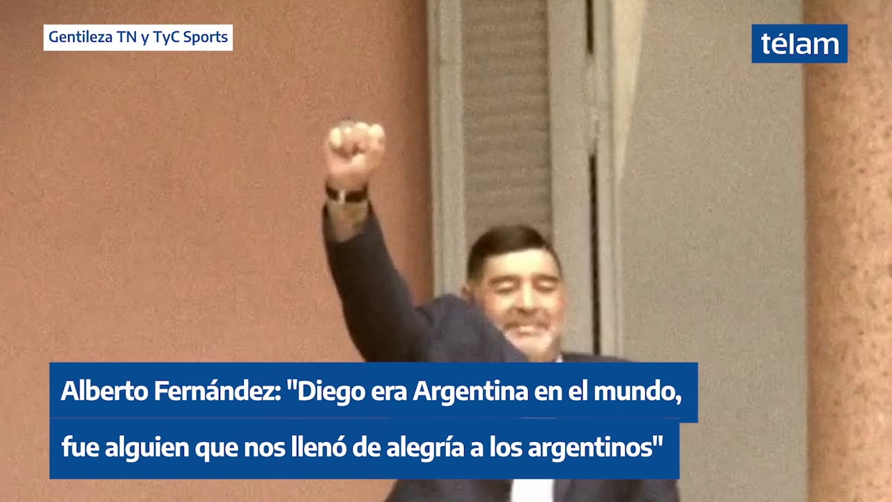 Alberto sobre Maradona