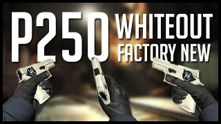 CSGO : P250 | Whiteout (Factory New) - Gameplay [100$]