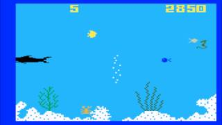 Shark! Shark! for tнe Mattel Intellivision