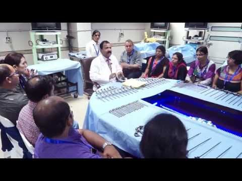 Laparoscopic hand instrument Demonstration Part 1