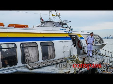 Cold War relic - aboard the invincible Russian hydrofoil from Saigon to Vung Tau