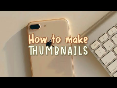 How To Make A Youtube Thumbnails (++Apps That I Use To Edit My Yt Thumbnails)