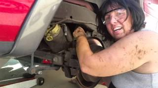 How to install Ford Expedition 2002 Air Suspension Ride Shocks