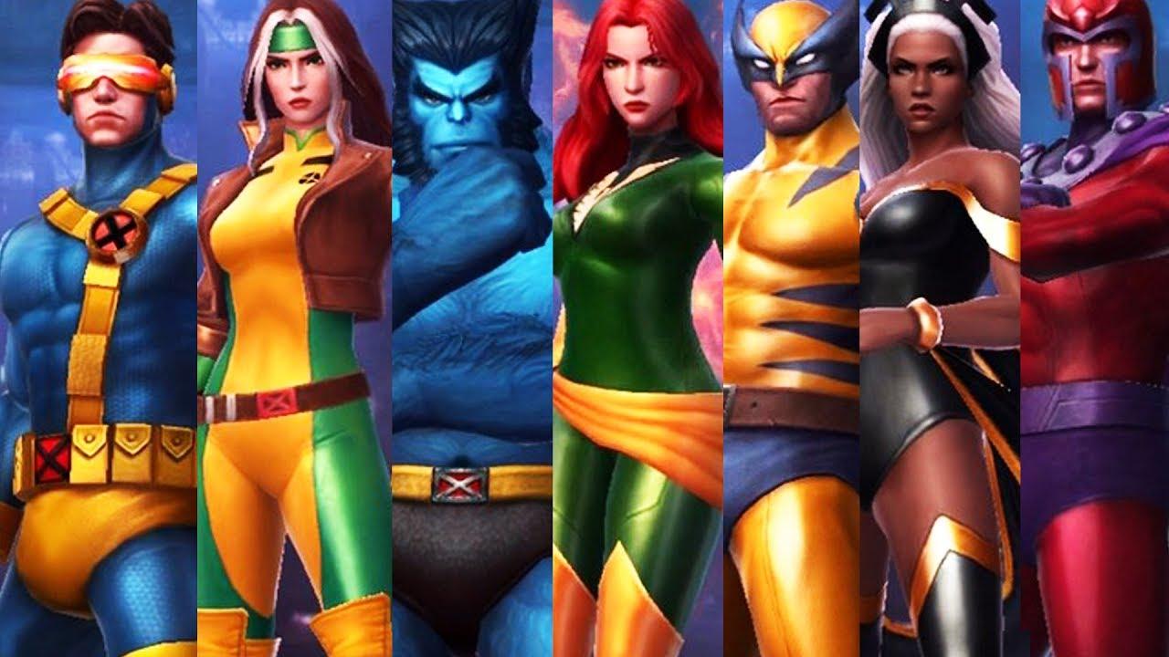 X Men Girl Characters New X-MEN Universe Upd...