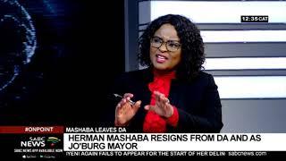 Mashaba resignation | Update on Herman Mashaba resignation with Natasha Phiri