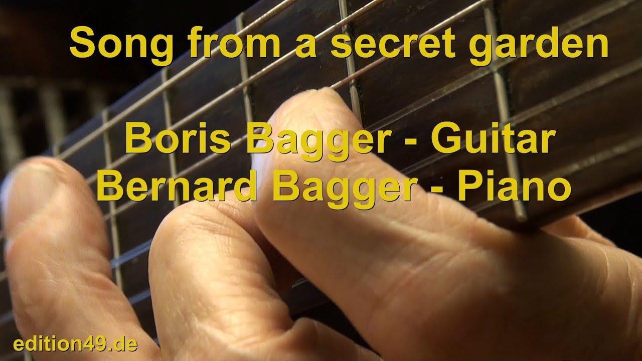 Song from a secret garden Boris Bagger Guitar Bernard Bagger Piano ...