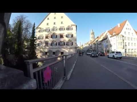 STREET VIEW: Altstadt von Rottweil in GERMANY
