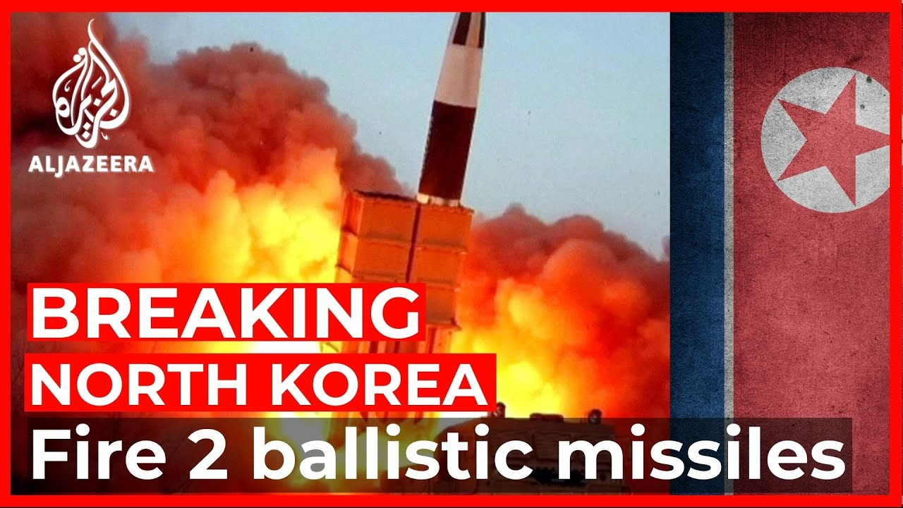 North Korea carries out suspected ballistic missile launch - Al Jazeera English