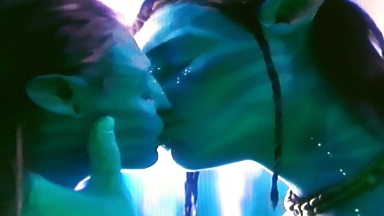 avatar kissing scene - youtube
