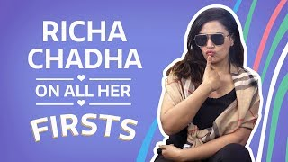 Richa Chadha on all her firsts  | Bollywood | Fashion | Pinkvilla
