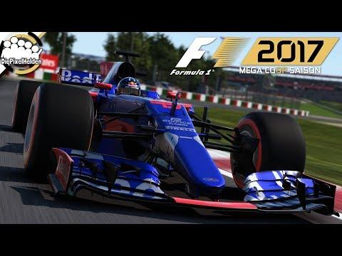 F1 2017 MEGA COOP SAISON - Japan-Test : Rennen - Let's Play F1 2017 Mega Coop